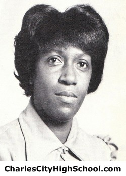 Geraldine Jones yearbook picture