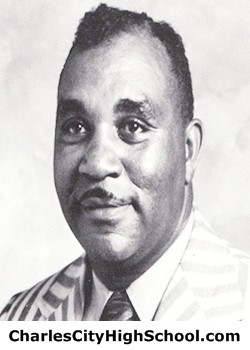 Leon Miles yearbook picture