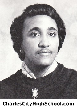 Muriel Miles yearbook picture