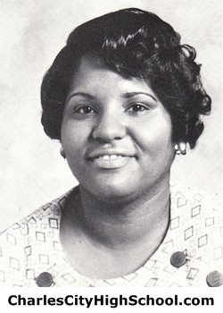 Alethia Thomas yearbook picture