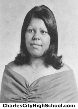 Cynthia L. Adkins yearbook picture