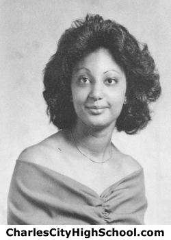 Cynthia LaVerne Adkins yearbook picture