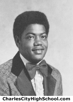Curtis Bowman yearbook picture