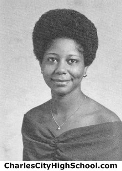 Gloria Canaday yearbook picture