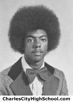 Alfred Crump yearbook picture