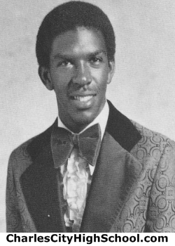 Gary Crump yearbook picture