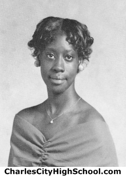 Bernadine Gordon yearbook picture
