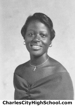 Alfreda Johnson yearbook picture
