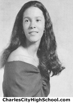 Monica Johnson yearbook picture