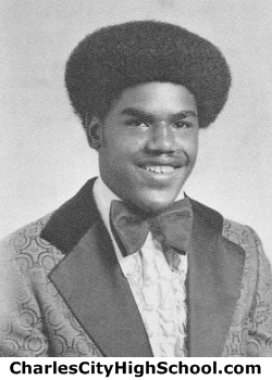 Earl Jones yearbook picture