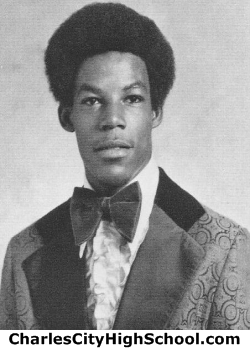 Howard Wallace yearbook picture