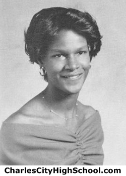 Sheila Wallace yearbook picture