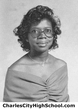 Martha Woodley yearbook picture