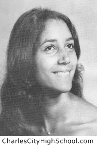 Lenora Adkins yearbook picture