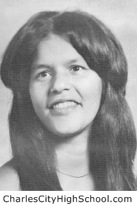 Sylvia J. Adkins yearbook picture