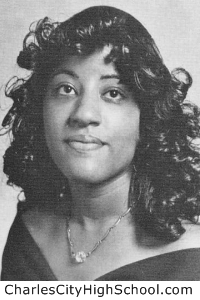 Sylvia M. Adkins yearbook picture