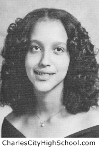 Teresa Adkins yearbook picture