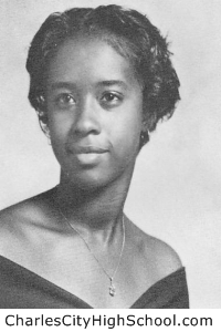 Sylvia I. Bradby yearbook picture
