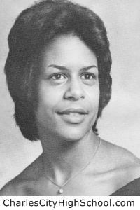 Sylvia N. Bradby yearbook picture
