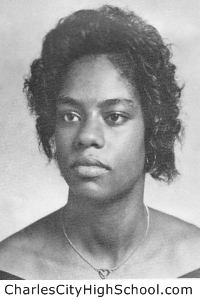 Roberta Brown yearbook picture