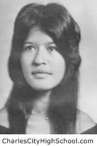 Charlene Cannada yearbook picture