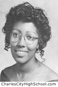 Fay Christian yearbook picture