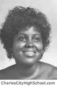 Gwen Coles yearbook picture