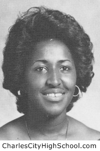 Avis Cotman yearbook picture