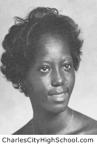 Carolyn Cox yearbook picture