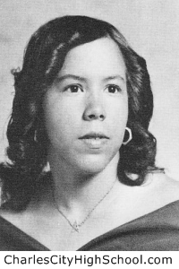 Crystal Crawley yearbook picture