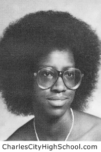 Vinsherida Ghee yearbook picture