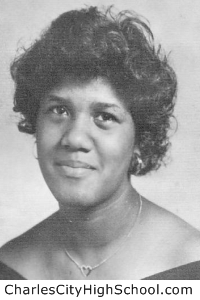 Shelia Jefferson yearbook picture
