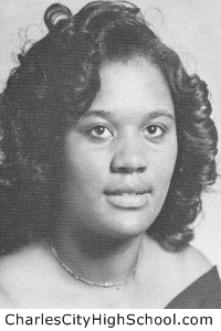 Cynthia Johnson yearbook picture