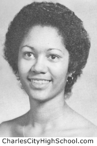 Chauna Jones yearbook picture