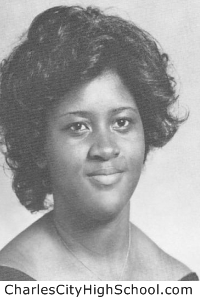 Julene Jordan yearbook picture