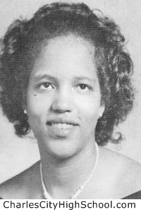 Lois Poindexter yearbook picture