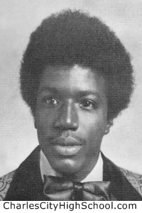 Otis Smith yearbook picture