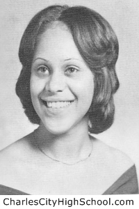 Nina Stewart yearbook picture