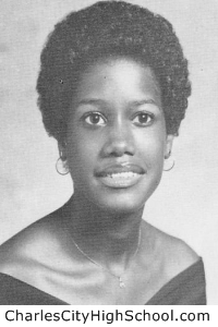 Kathy Washington yearbook picture