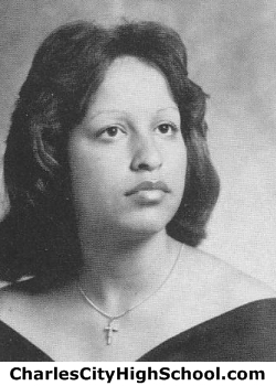 Beatrice Adkins yearbook picture