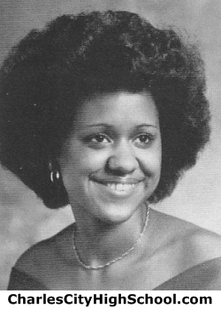 Stephanie Adkins yearbook picture