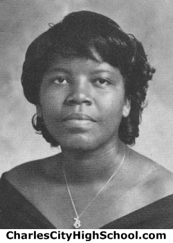 Shandra Baker yearbook picture