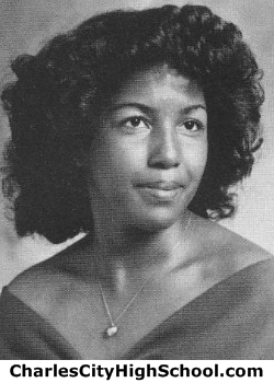 Angela Bowman yearbook picture