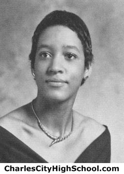 Bertha Bradby yearbook picture