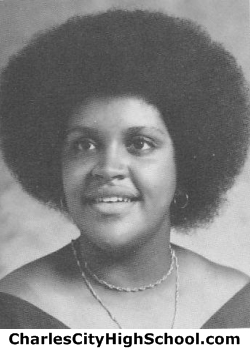 Yvette Brown yearbook picture