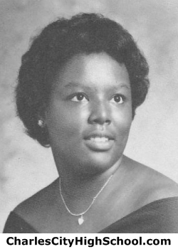 Pamela Buskey yearbook picture