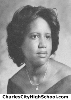 Cynthia Carter yearbook picture