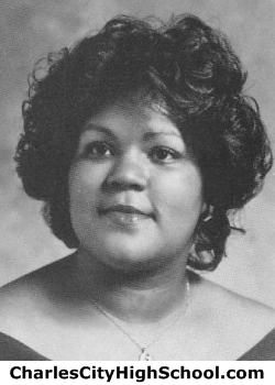 Gail Christian yearbook picture
