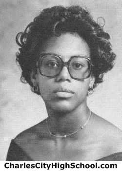 Carla Cotman yearbook picture