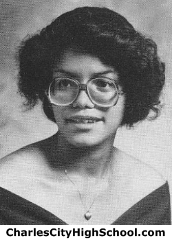 Cathy Cotman yearbook picture